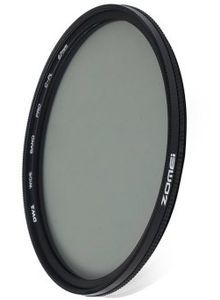 Zomei 67mm Ultra Tipis CPL Circular Polarizer Glass Filter Lens (Hitam)