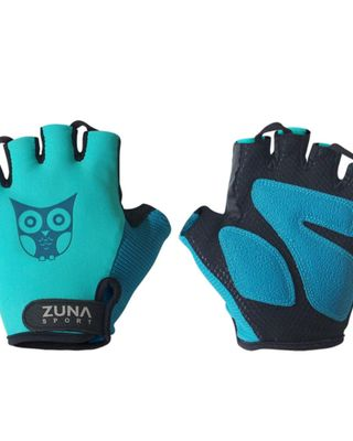 Zuna Sport Ladies Lady Owl Simple Cycling Gloves Half Finger  sarung tangan sepeda