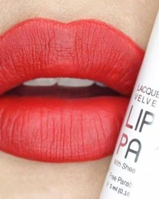 Zoya Cosmetic Lip Paint Pure Red