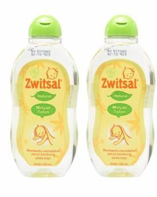 Zwitsal Baby Natural Minyak Telon 100ml - 2Pcs