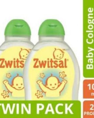 ZWITSAL Baby Cologne Natural Fresh Day 100ml - Twin Pack [ ISI 2 Pcs ]
